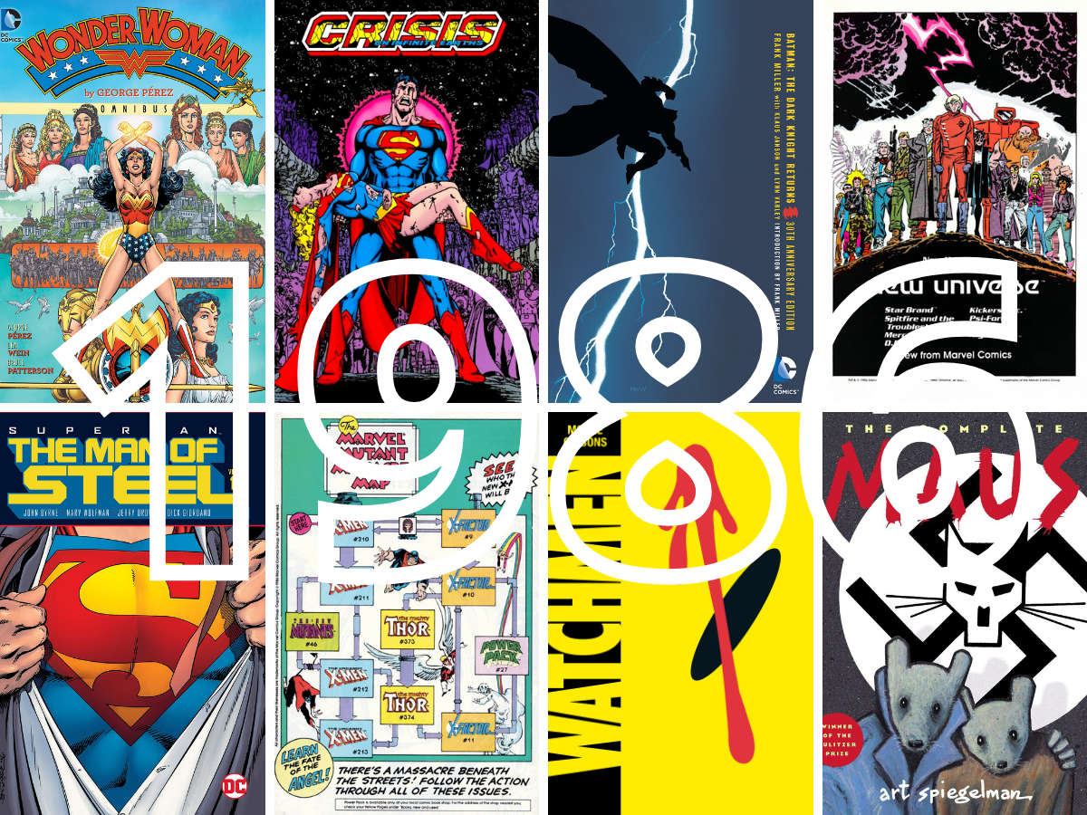 Read more about the article 1986 As A Pivotal Year For Comic Books