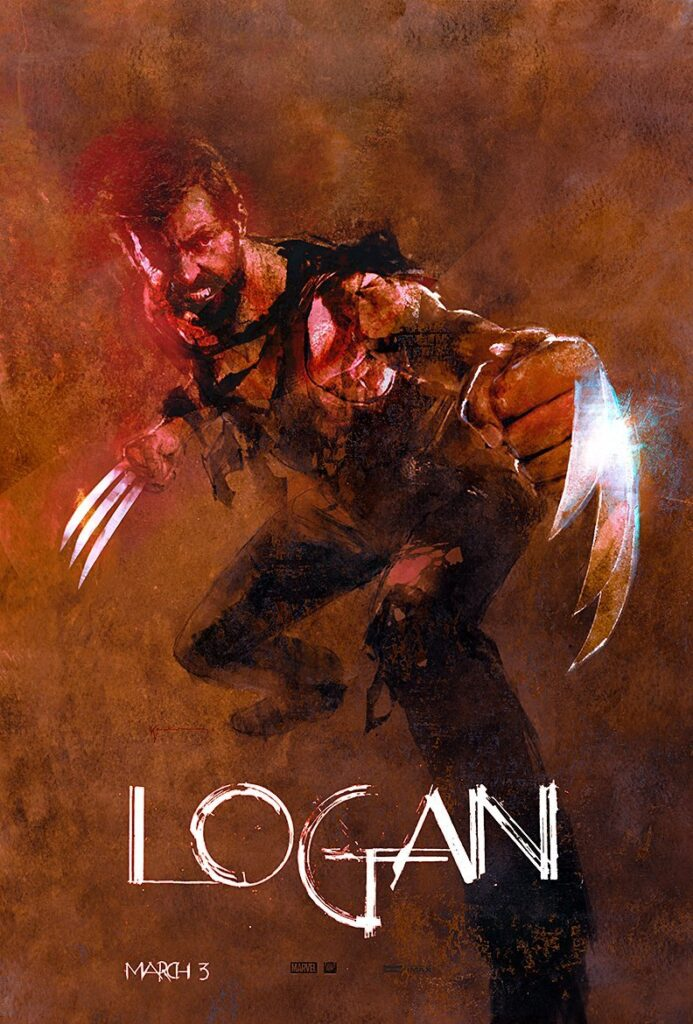 Logan film poster by Bill Sienkiewicz