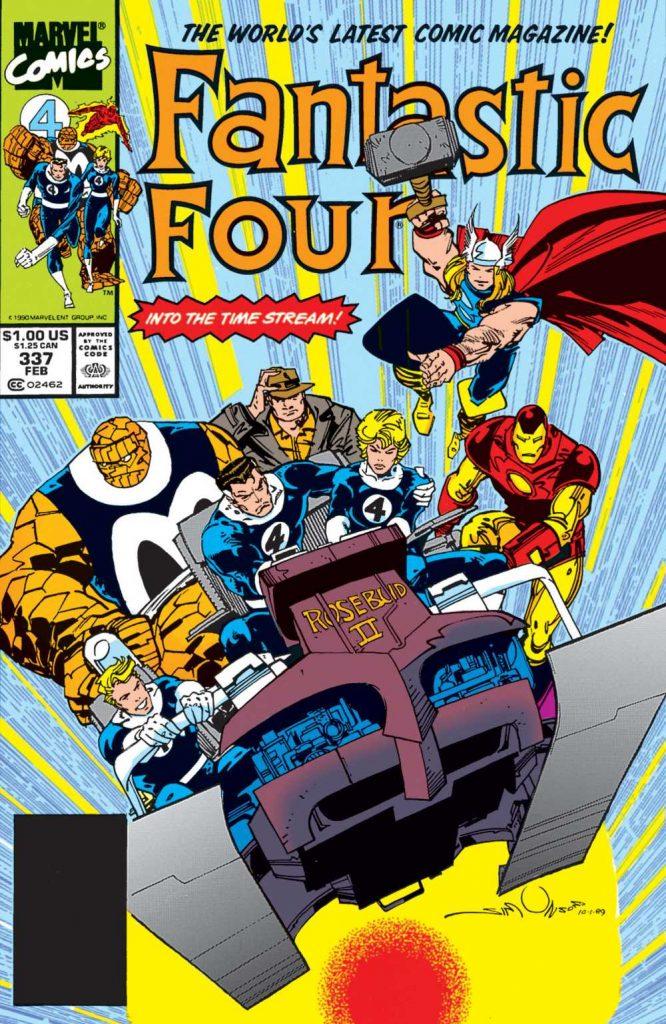 The Fantastic Four #337 cover by Walt Simonson