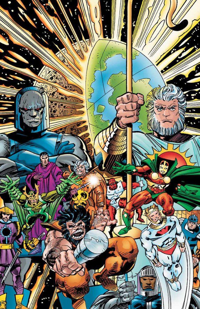 New Gods cover by Walt Simonson