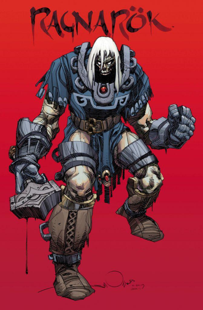 Ragnarok volume 1 cover by Walt Simonson