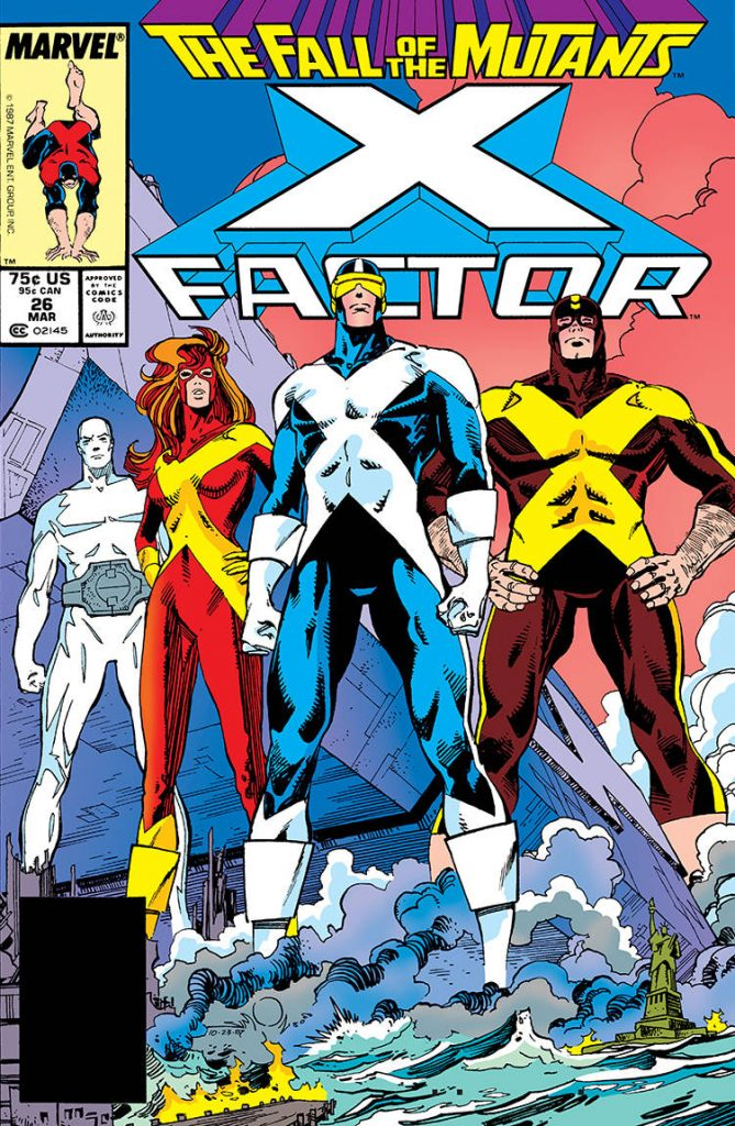 X-Factor #26 cover by Walt Simonson