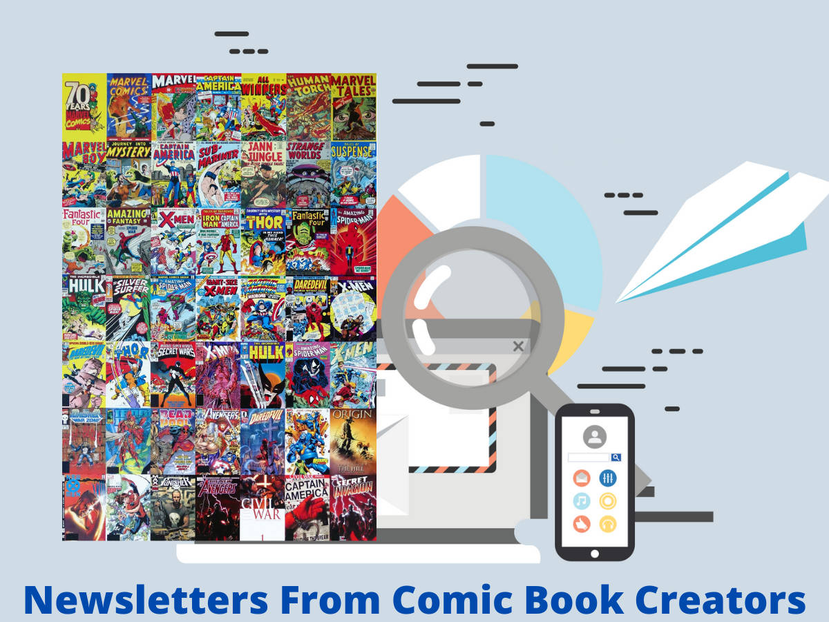 You are currently viewing Newsletters From Comic Book Creators